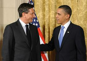 Borut Pahor in Barack Obama
