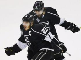 Dustin Brown in Drew Doughty