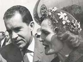 Patricia in Richard Nixon