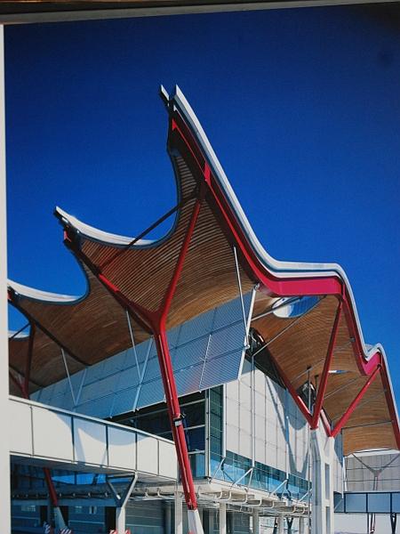Richard Rogers Partnership in Estudio Lamela: Novi terminal letališča Madrid-Barajas